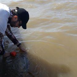 Siempre practicar la pesca con devolución.