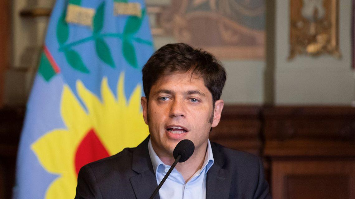 Buenos Aires Province Governor Axel Kicillof.