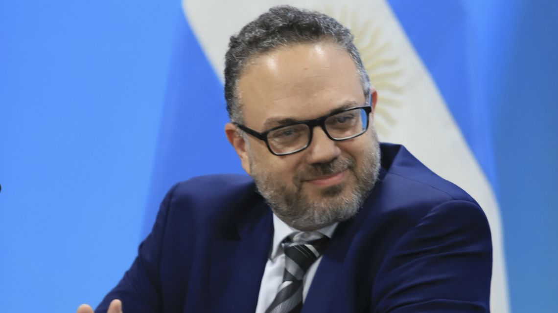 Argentine Minister of Productive Development, Matías Kulfas, January 8 2020.