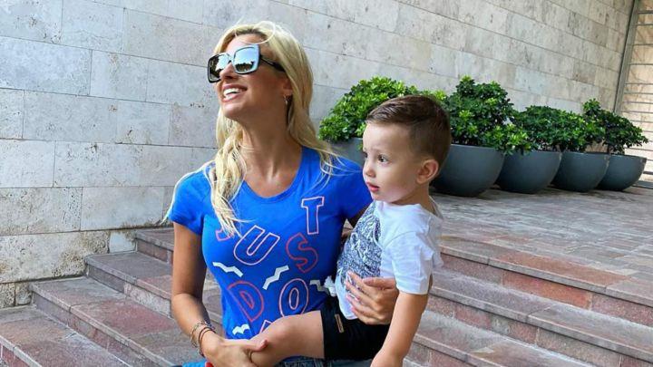 El nuevo look del hijo de Ailén Bechara