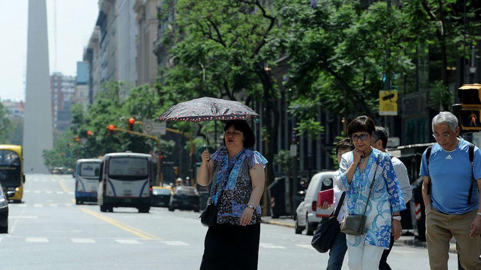 El SMN emitió un alerta amarilla para la ciudad de Buenos Aires.