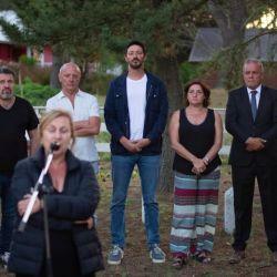 Acto homenaje a Cabezas en Pinamar | Foto:Cedoc