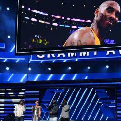 Kobe Bryant y su recuerdo en los Grammys