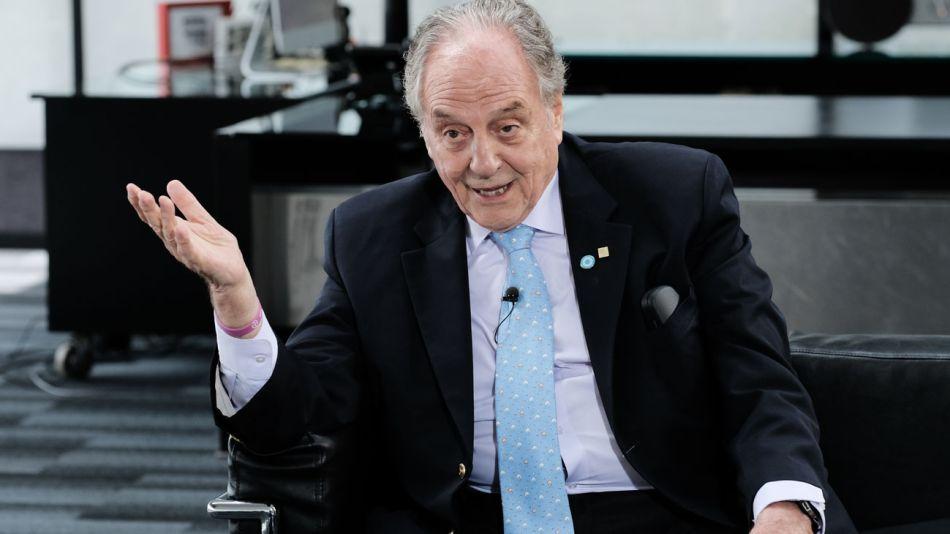 Carlos Heller, en la entrevista con Jorge Fontevecchia.