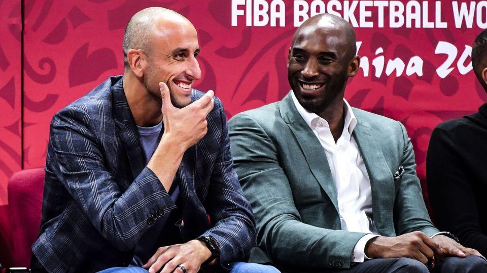 Manu Ginobili y otros famosos lloran la muerte de Kobe Bryant y su hija de 13 años