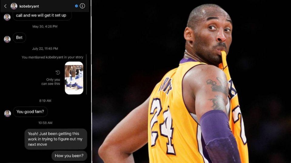 Filtran el último mensaje que Kobe Bryant envió minutos antes de morir