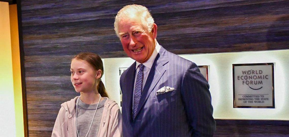 Las contradicciones del príncipe Carlos luego del encuentro con Greta Thunberg