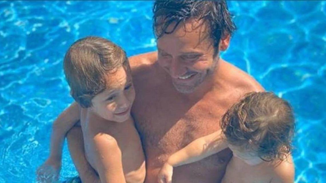 Los planes de Benjamín Vicuña con sus hijos mientras Pampita está de vacaciones