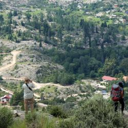 En la cima del cerro Wank (1.715 msnm) tenemos diferentes vistas panorámicas de La Cumbrecita y del entorno que la rodea.
