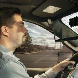 Virtual Visor es un parasol digital que protege la vista de los rayos solares de manera inteligente.