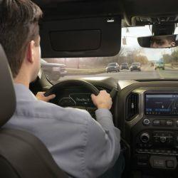 Conducción con la visera convencional.