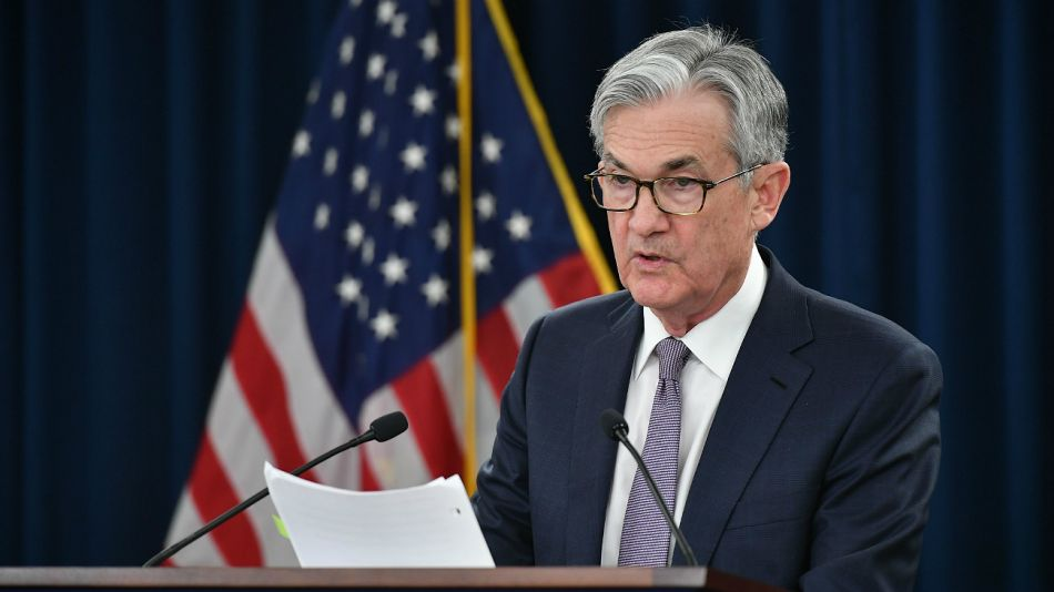 Jerome Powell, titular de la FED.