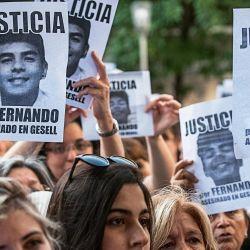 Familiares y amigos pidieron Justicia por Fernando Báez Sosa | Foto:Juan Ferrari