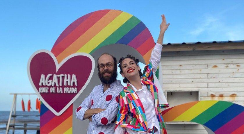 Los hijos de Ágatha Ruíz de la Prada.