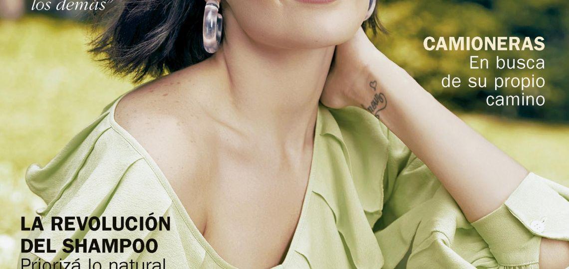 Flor Torrente en una nueva edición de Marie Claire