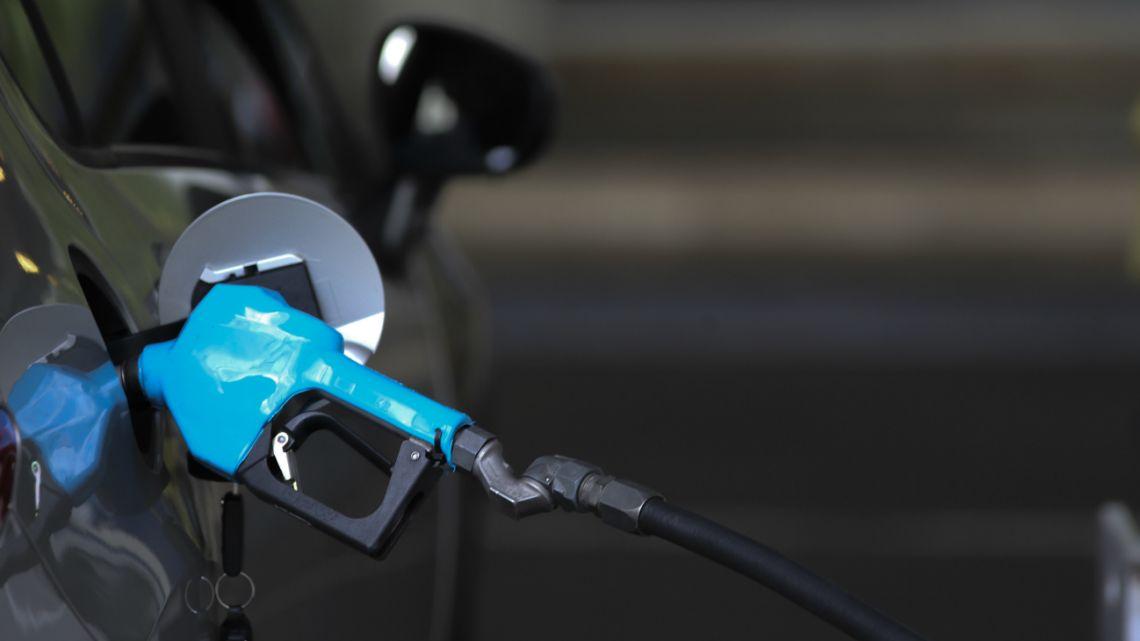 A YPF oil company gas pump in 2019.