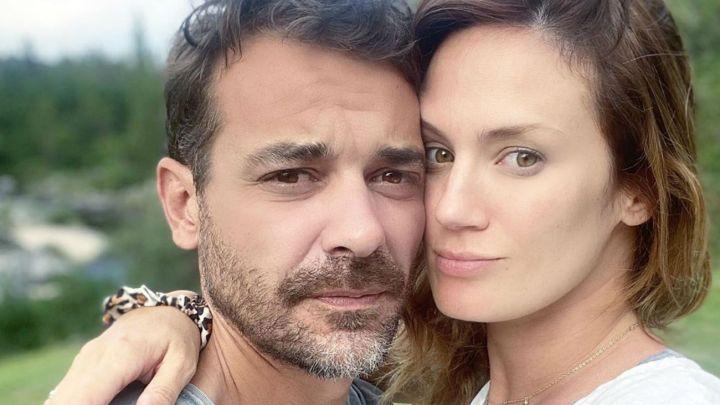 El amoroso mensaje de Paula Chaves a Pedro Alfonso al verlo con Filipa en brazos