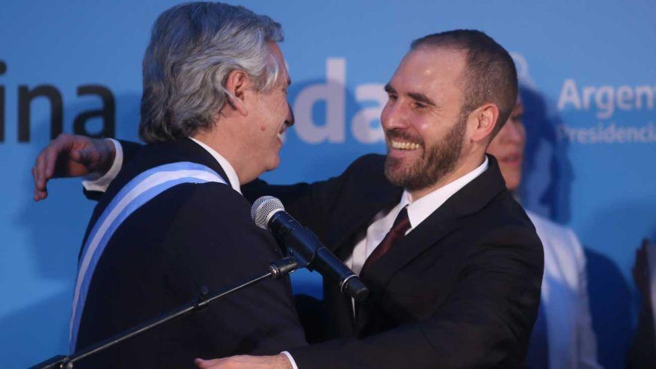 Alberto Fernández y Martín Guzman