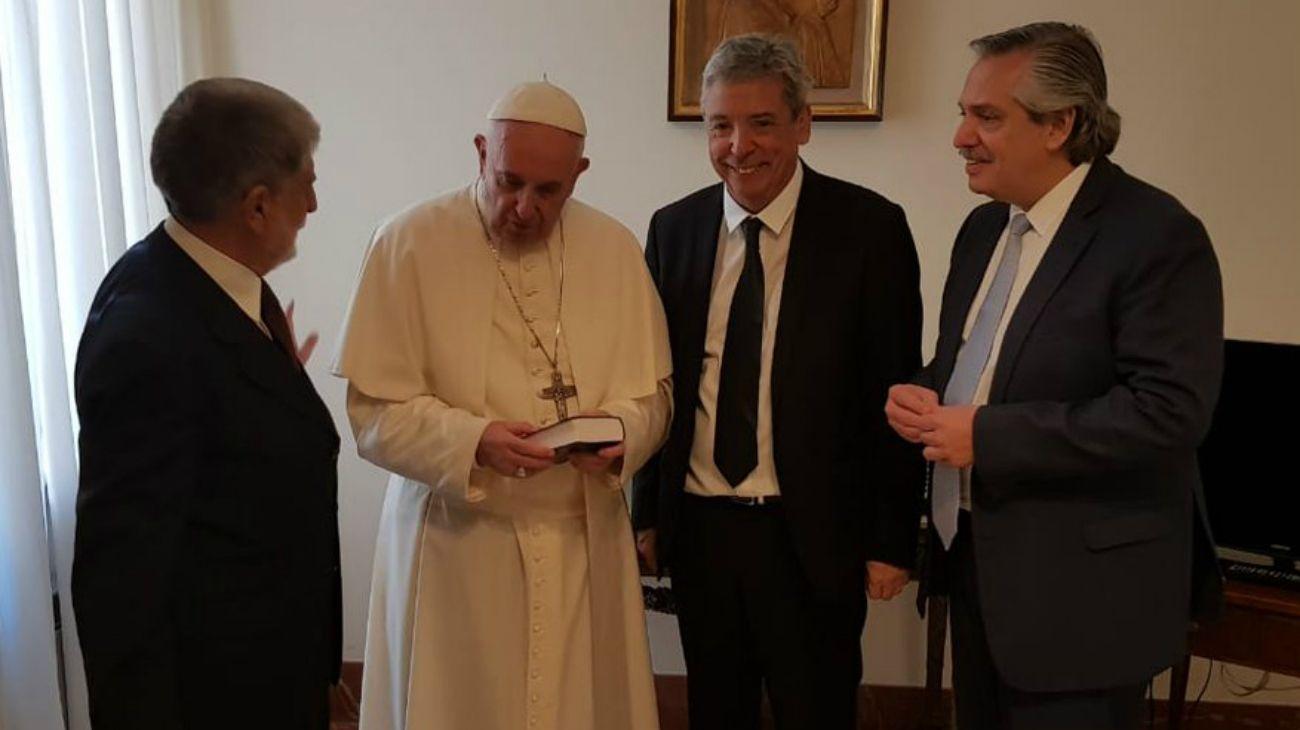 El último encuentro de Fernández y el Papa fue en 2018.