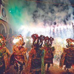 Emocionantes carnavales en todo el país.