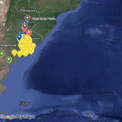 captura mapa del pique al 31 de enero de 2020
