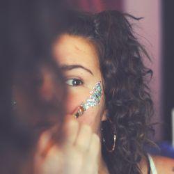 Maquillaje, moda, temporada, estilos