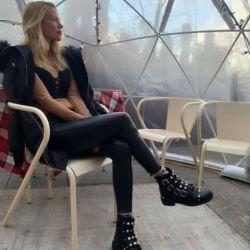 Nicole Neumann en Nueva York