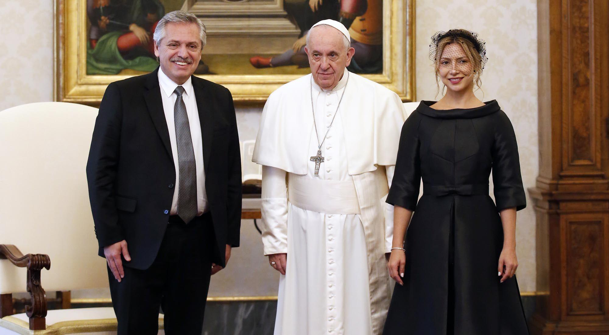 El presidente se reúne hoy viernes 31 de Enero con el Papa Francisco en el Vaticano
