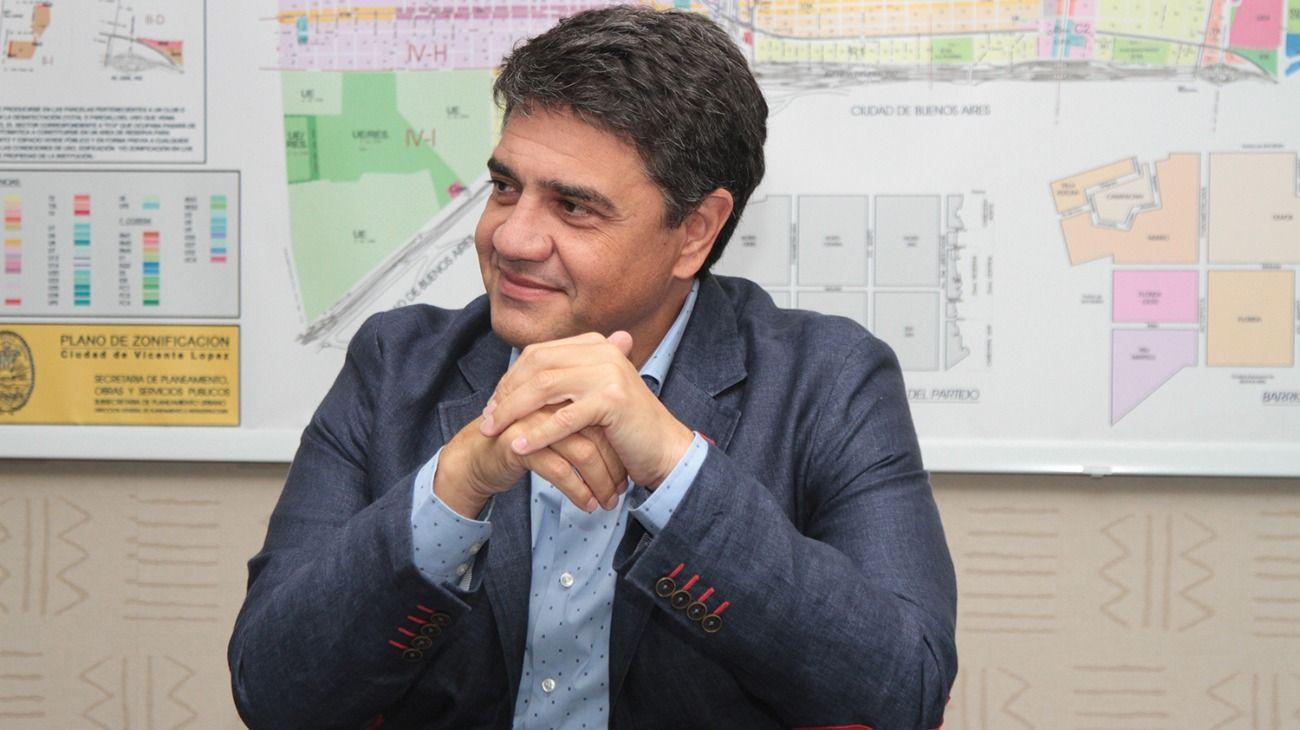 Jorge Macri, intendente de Vicente López