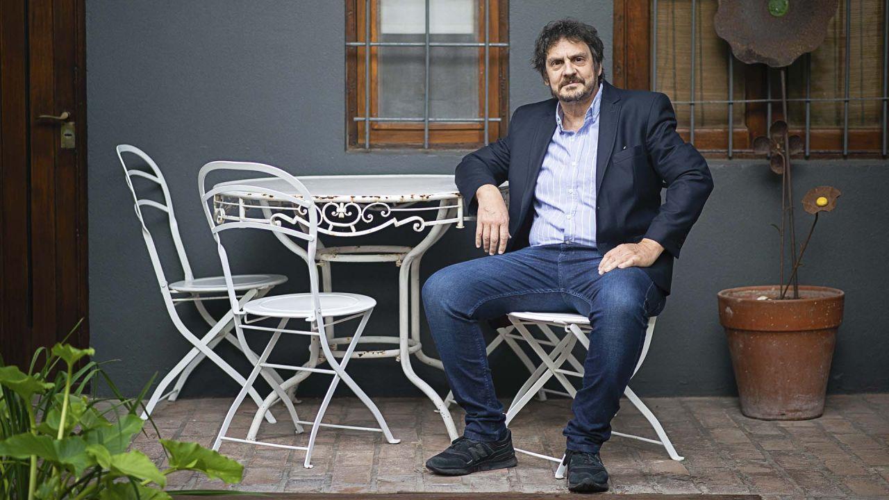Felipe Pigna presentó su último libro en Pinamar. | Foto:Mario De Fina (Desde Pinamar)