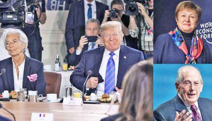 Matices. Para el ex funcionario, la presión de Estados Unidos existe, pero menos sobre cuestiones técnicas. Georgieva y Camdessus, más socialdemócratas.