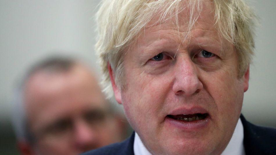 Boris Johnson, premier británico.
