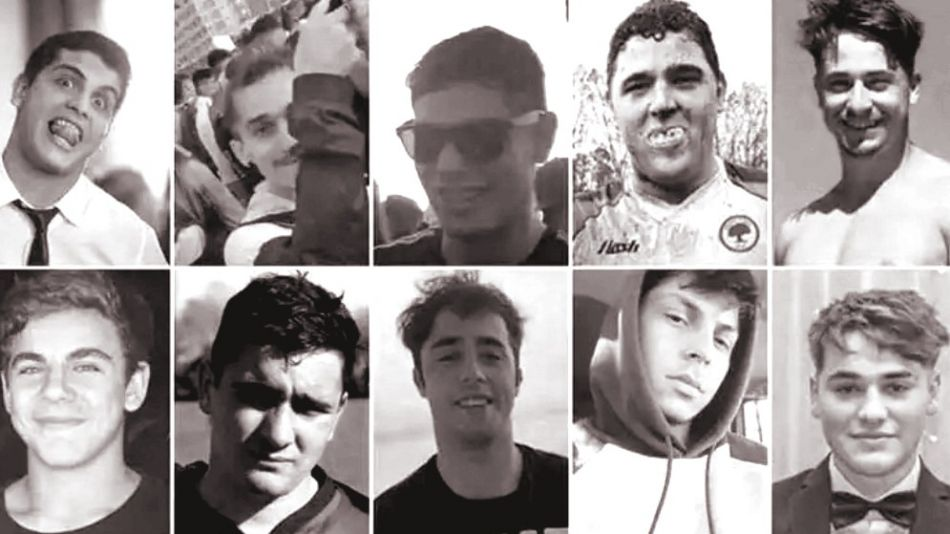 Rugbiers detenidos por el crimen de Fernando Báez Sosa