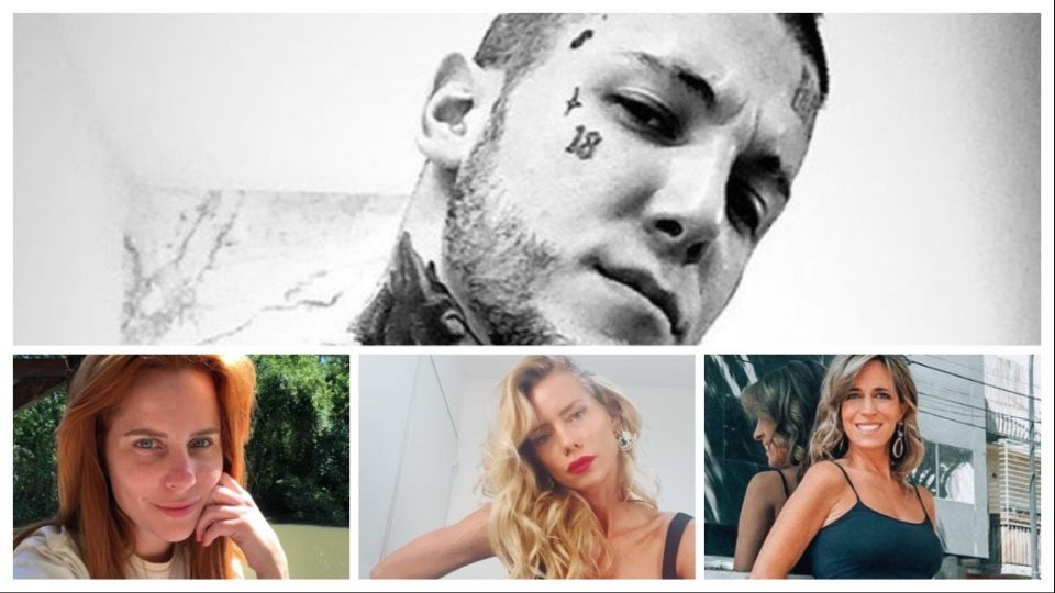 Nicole Neumann, Sandra Borghi y Agustina Kämpfer indignadas con Alex Caniggia