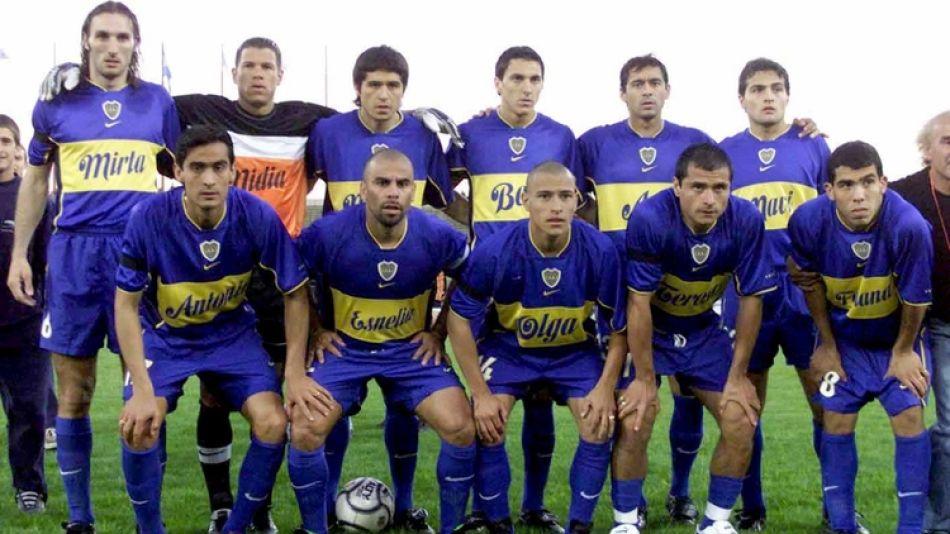 Boca Talleres 2001