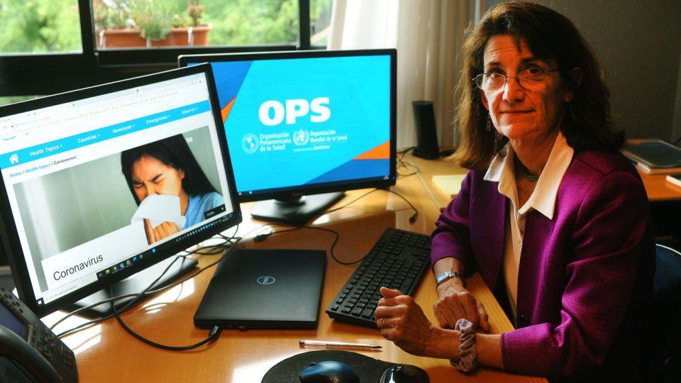 Experta. Maureen Birmingham aseguró que la Argentina sigue las recomendaciones de la OPS/OMS para detectar un eventual caso.