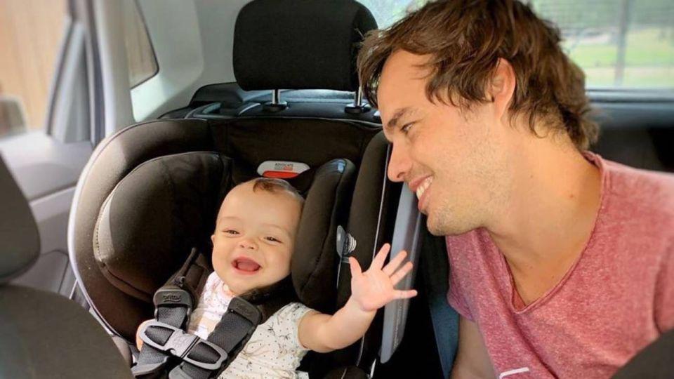 VIDEO| La tierna de reacción de la hija de Benja Rojas cuando lo vio por primera vez en TV