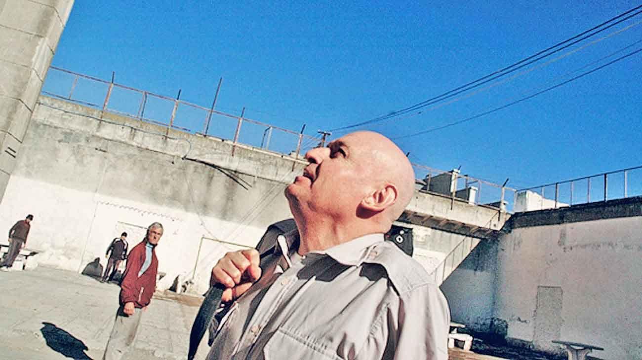 Encierro. Actualmente preso en Olmos, lo atraparon a sus 20 años.