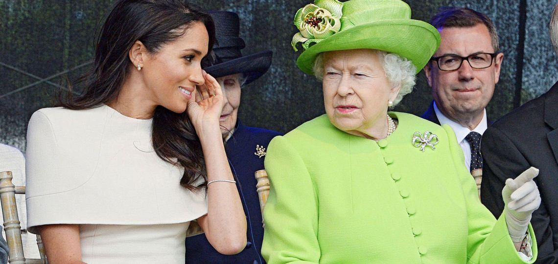 Isabel II y Meghan Markle: el gesto de la reina en su última aparición