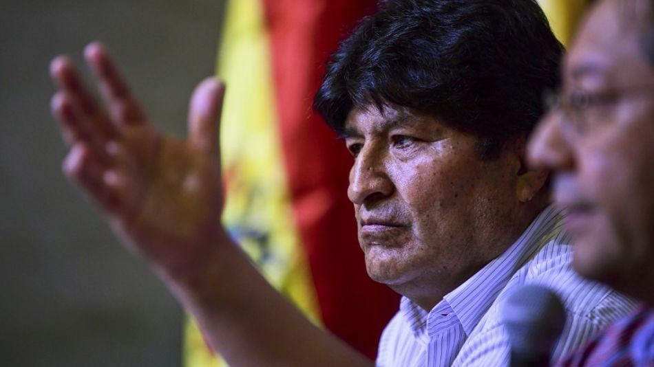 Evo Morales argentina