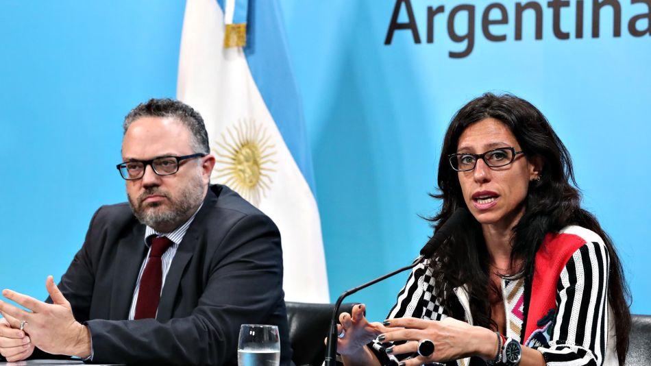 Matías Kulfas y Paula Español 20200203