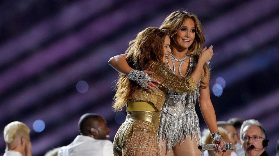 Así fue el fabuloso show de Shakira y Jennifer Lopez en el Super Bowl