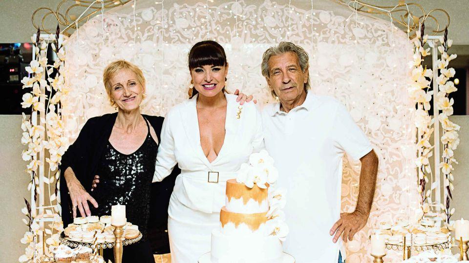 Toda la intimidad del cumpleaños de Andrea Estevez junto a su hijita