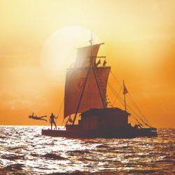 Escena de la película Kon-Tiki.