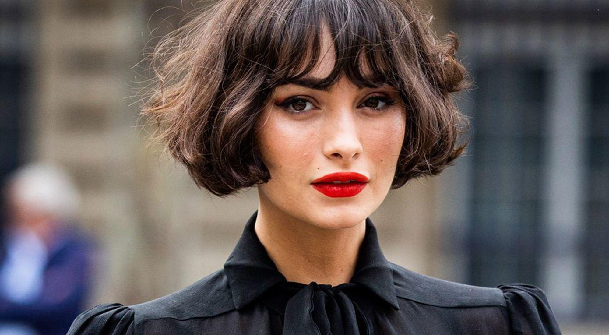Lindo y sin esfuerzo peinados cortos con flequillo Galería de cortes de pelo Ideas - Marie Claire   10 estilos de pelo corto con flequillo que ...