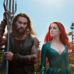 Amber Heard junto a Jason Momoa en Aquaman