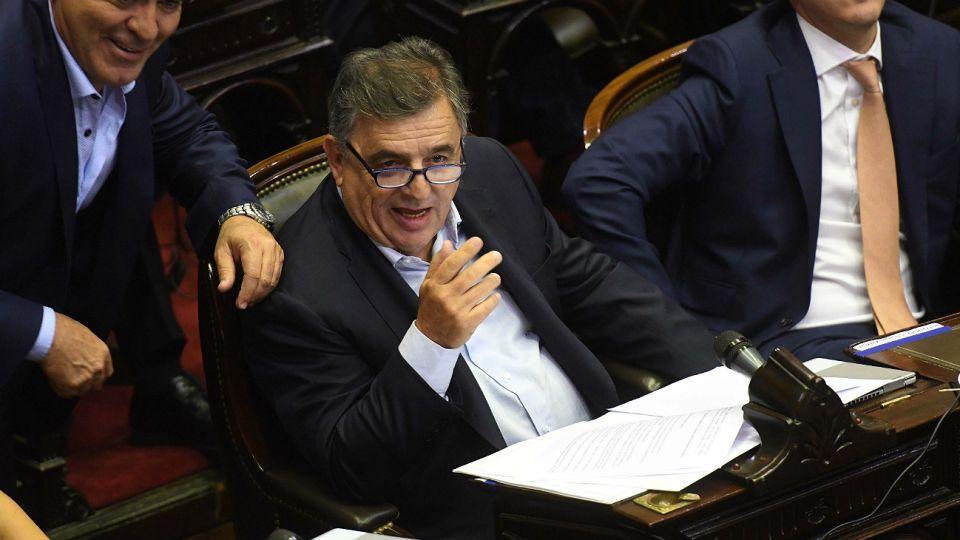 Mario Negri, diputado nacional.