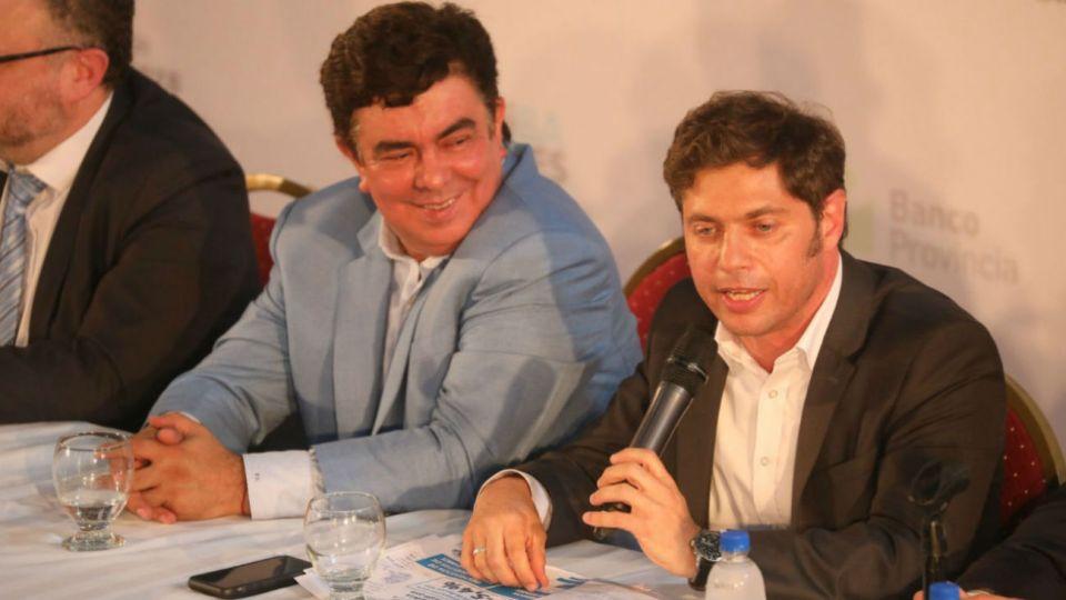 "Axel Kicillof presentó el plan ""arriba pymes"" en La Matanza"