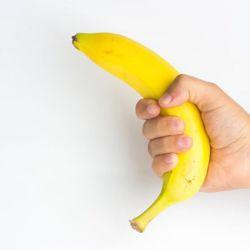 Masturbarse cáscara de banana
