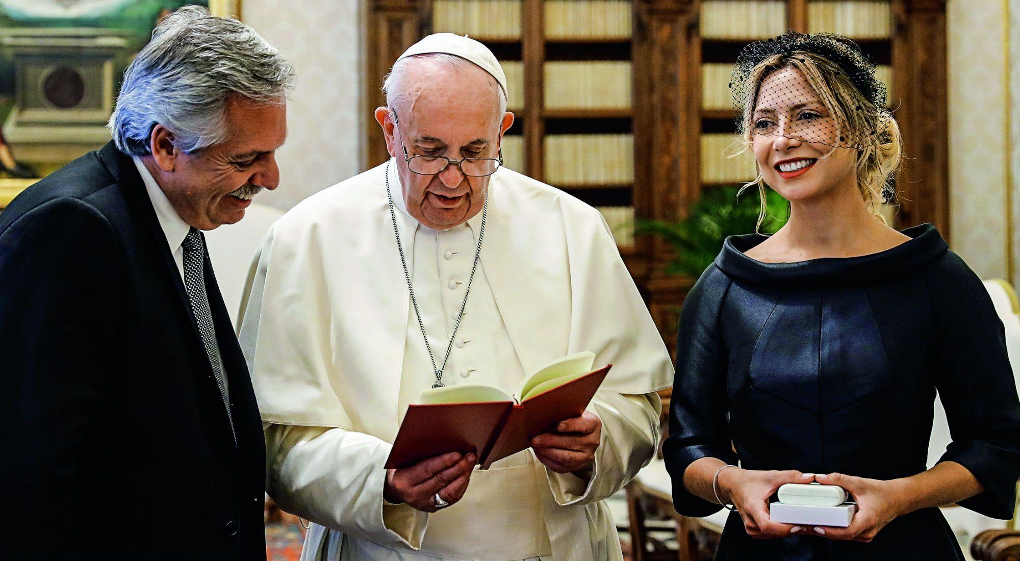 El saludo del papa Francisco a Alberto Fernández por el 25 de mayo